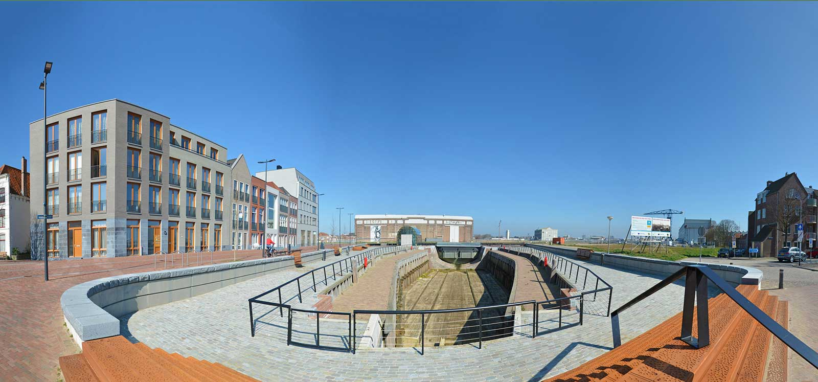 Renovated Perry-dock in Flushing