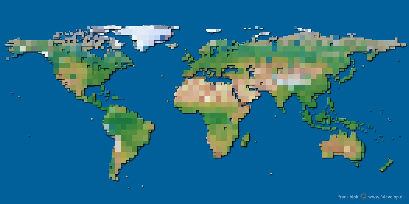 The Block World Map Is Here At Last - 3Develop image blog on