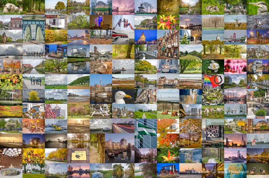 The longlist for the selection of the ten best photos of 2020 on Frans Blok's blog