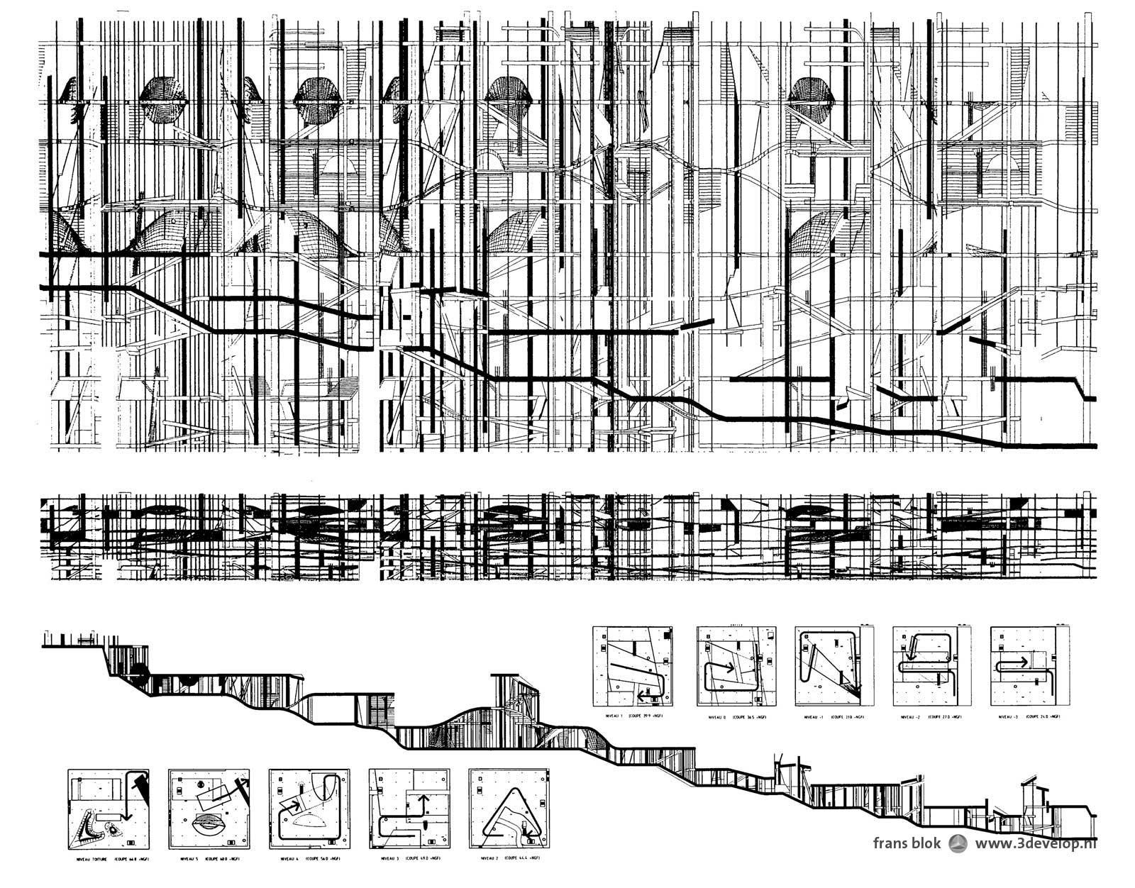 Portfolio zwart wit 3develop visualisatie en ontwerp - Bibliotheques ontwerp ...