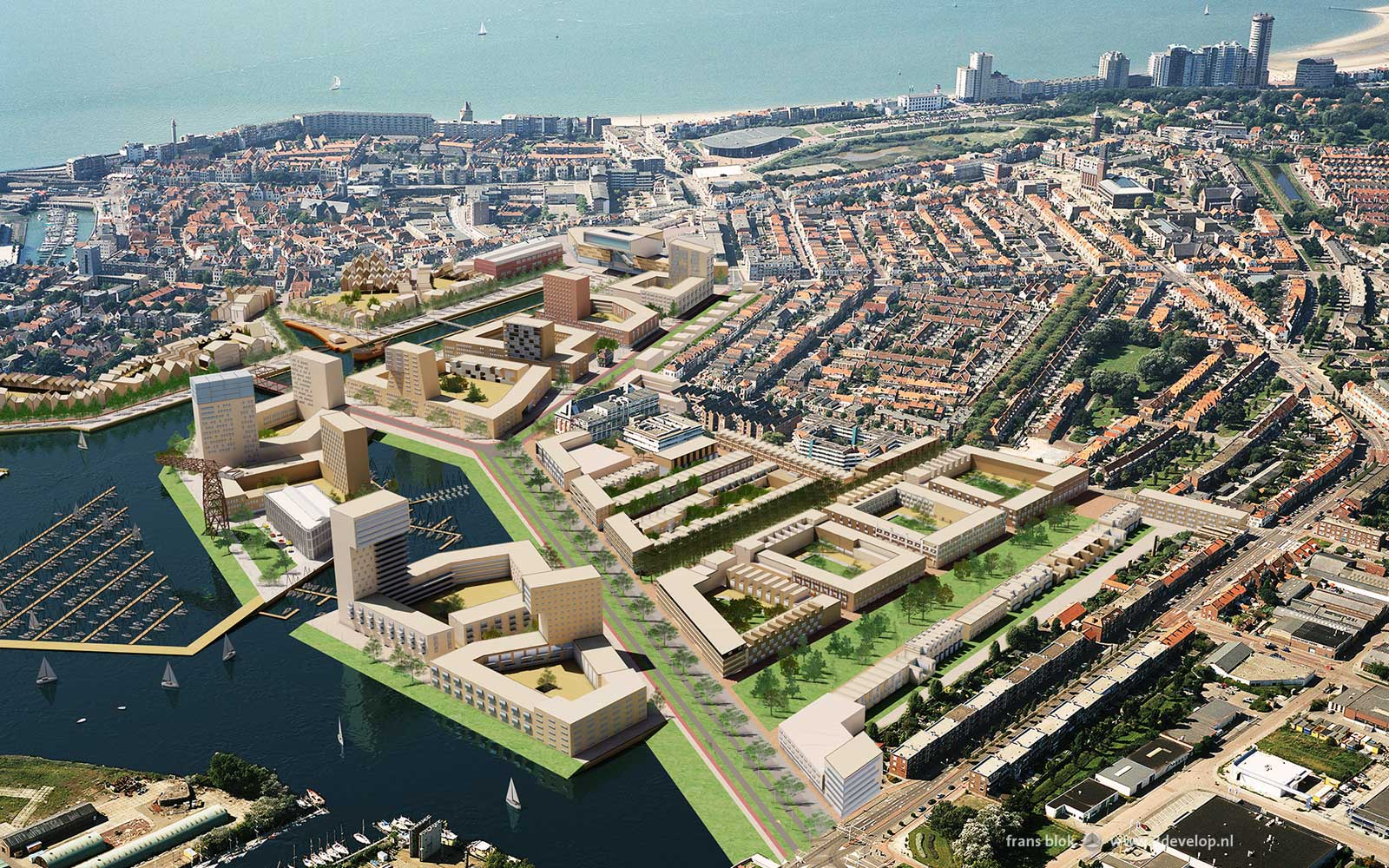 Scheldt Quarter, Flushing - design: VHP