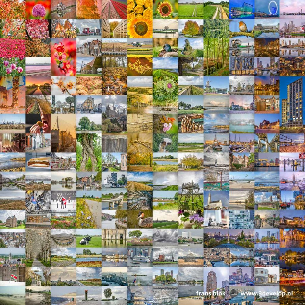Longlist with 190 photos for the selection of the ten best photographs, according to the photographer