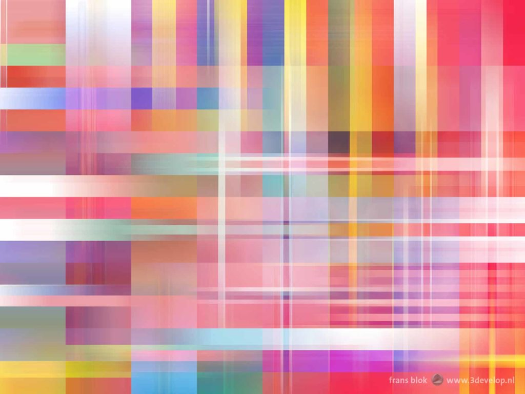 Composition with flags of 48 European countries, blending in two directions, creating a fascinating pastel effect